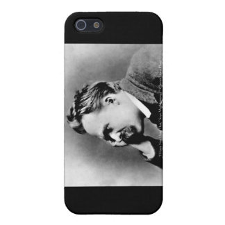 "Nietzsche ""Pride Vs Memory"" Wisdom Quote Gifts/Tee iPhone SE/5/5s Case"