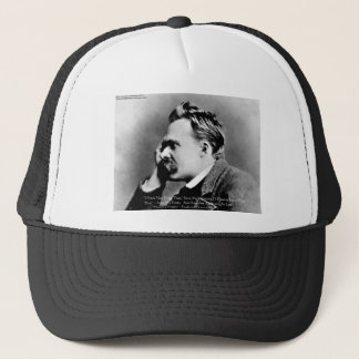 "Nietzsche ""Pride Vs Memory"" Wisdom Quote Gifts/Tee Trucker Hat"