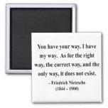 Nietzsche Quote 1a 2 Inch Square Magnet