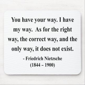 Nietzsche Quote 1a Mouse Pad