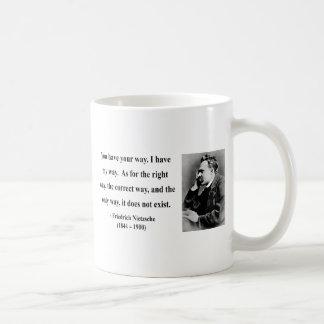 Nietzsche Quote 1b Classic White Coffee Mug