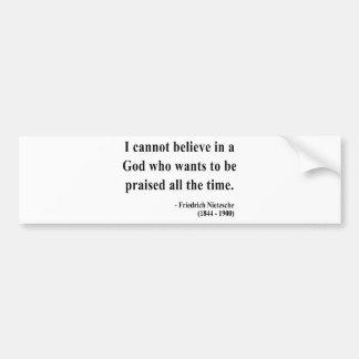 Nietzsche Quote 2a Bumper Stickers