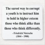 Nietzsche Quote 2a Mouse Pad