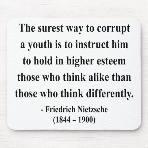Nietzsche Quote 2a Mousepad