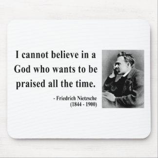Nietzsche Quote 2b Mouse Pad