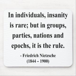 Nietzsche Quote 3a Mouse Pad