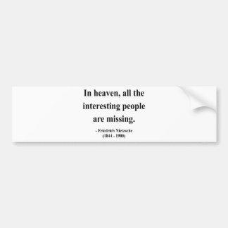 Nietzsche Quote 4a Bumper Stickers