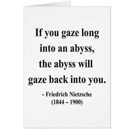 Nietzsche Quote 4a Card