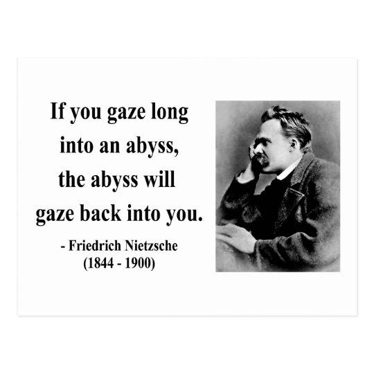 Nietzsche Quote 4b Postcard