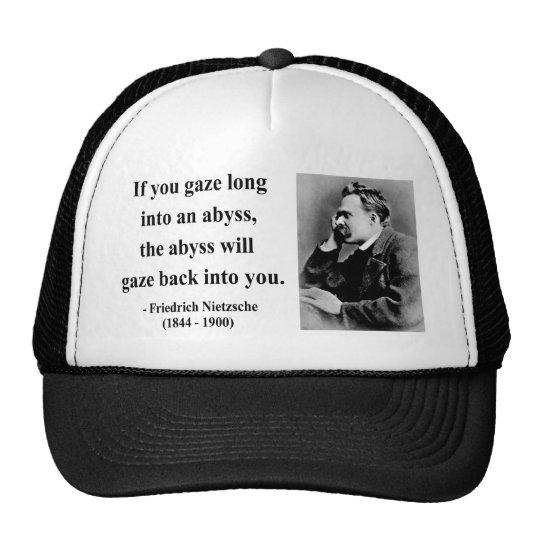 Nietzsche Quote 4b Trucker Hat