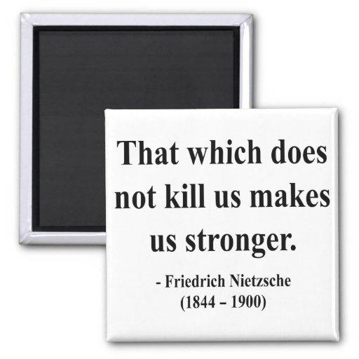 Nietzsche Quote 5a 2 Inch Square Magnet