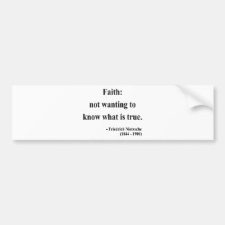 Nietzsche Quote 5a Bumper Sticker