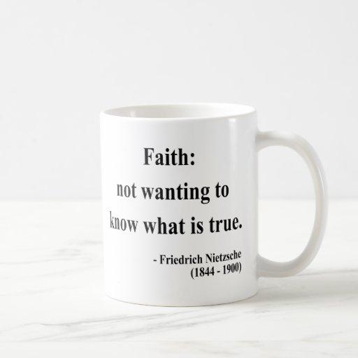 Nietzsche Quote 5a Classic White Coffee Mug