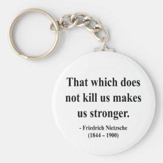 Nietzsche Quote 5a Keychains