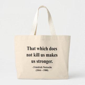 Nietzsche Quote 5a Large Tote Bag