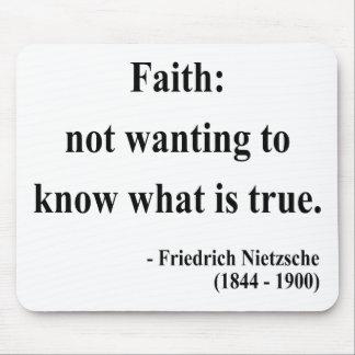 Nietzsche Quote 5a Mouse Pad