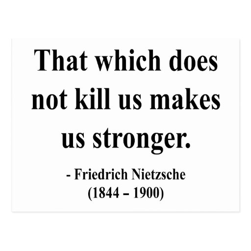 Nietzsche Quote 5a Postcard