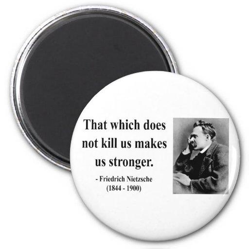 Nietzsche Quote 5b 2 Inch Round Magnet