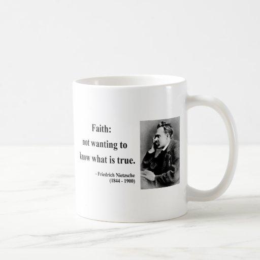 Nietzsche Quote 5b Classic White Coffee Mug