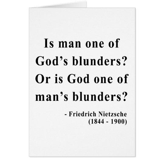 Nietzsche Quote 6a Card
