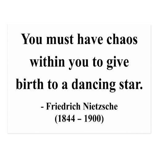 Nietzsche Quote 6a Postcard