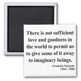 Nietzsche Quote 7a Magnet