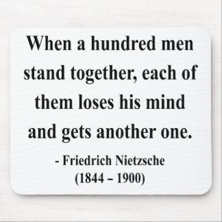Nietzsche Quote 7a Mouse Pad