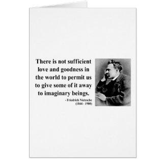 Nietzsche Quote 7b Cards