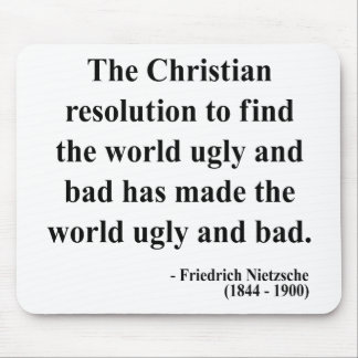Nietzsche Quote 8a Mouse Pad