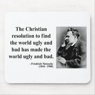 Nietzsche Quote 8b Mouse Pad
