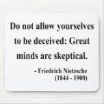 Nietzsche Quote 9a Mousepad