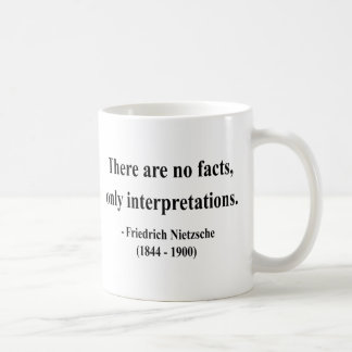 Nietzsche Quote 9a Classic White Coffee Mug