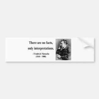 Nietzsche Quote 9b Bumper Sticker