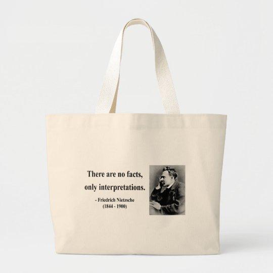 Nietzsche Quote 9b Large Tote Bag