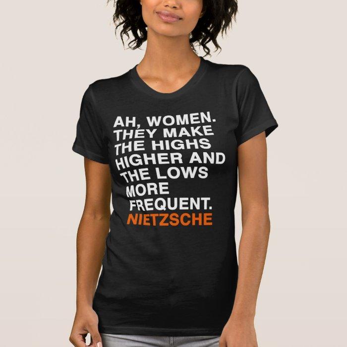 NIETZSCHE Quote T-Shirt