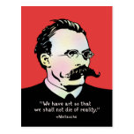 Nietzsche - realidad del arte v. postales