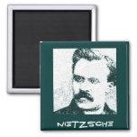 Nietzsche Refrigerator Magnet