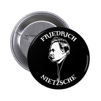 Nietzsche - SV Pin Redondo De 2 Pulgadas