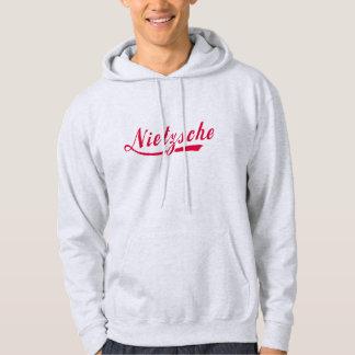 Nietzsche T Shirt Ornate Red Lettering