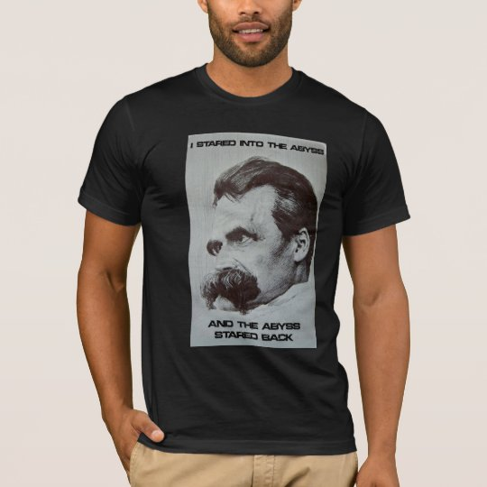 NIETZSCHE - THE ABYSS Cafe T-Shirt