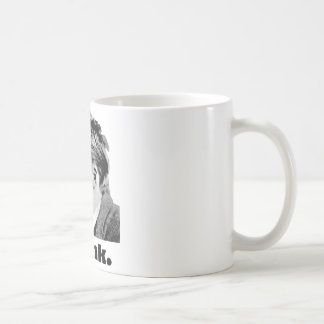 Nietzsche - Think mug