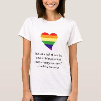 Nietzsche-unhappy marriages T-Shirt