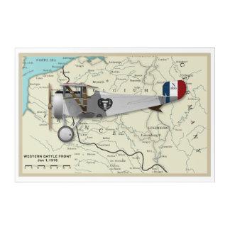 Nieuport17_Map Acrylic Wall Art