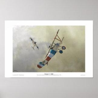 Nieuport 11 'BéBé' Poster