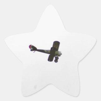 Nieuport 28 Model In Flight Star Sticker