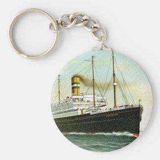 Nieuw Amsterdam de 1906 Llavero Redondo Tipo Pin