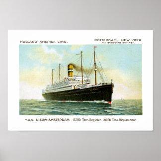Nieuw Amsterdam of 1906 Poster