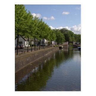 Nieuwe Haven, Naarden Postcard