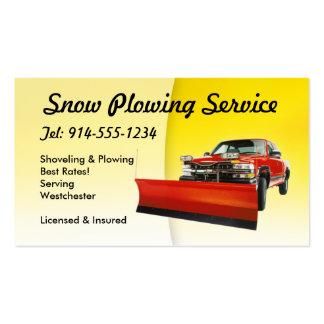 Nieve ADAPTABLE que ara amarillo Tarjetas De Visita