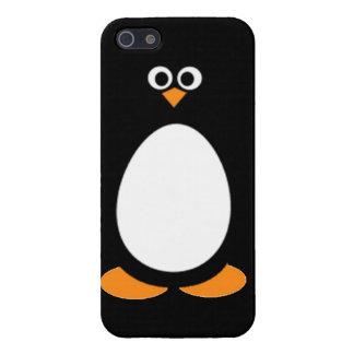 Nieve ártica animal fresca del invierno del caso d iPhone 5 fundas